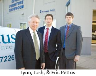 Lynn, Josh, & Eric Pettus